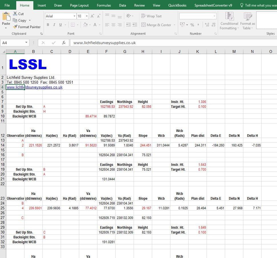 LSSL Traverse Programme 2