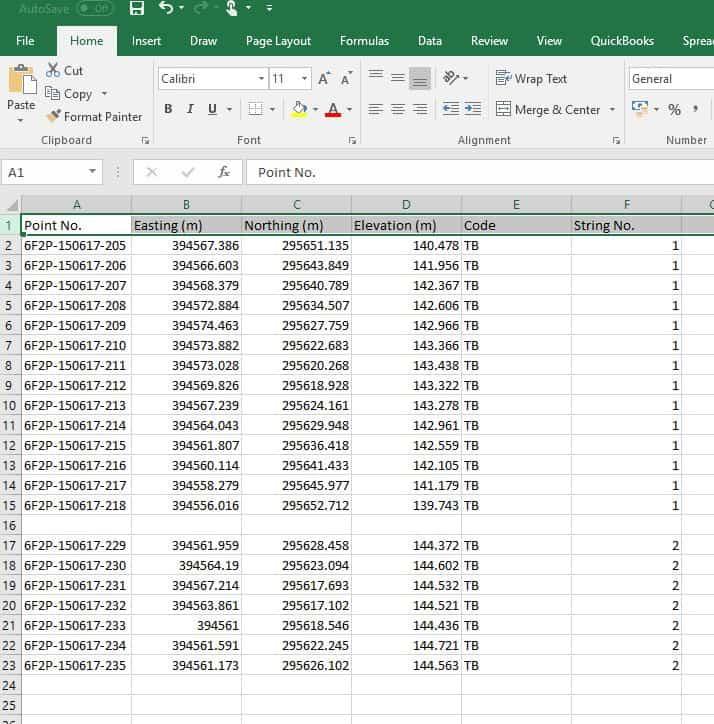 Stockpile Example Data 2